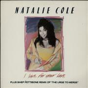 Click here for more info about 'Natalie Cole - I Live For Your Love'