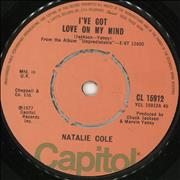 Click here for more info about 'Natalie Cole - I've Got Love On My Mind'
