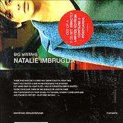 Click here for more info about 'Natalie Imbruglia - Big Mistake - Part 2 + Cards'