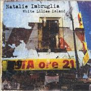 Natalie Imbruglia White Lilies Island UK CD album Promo