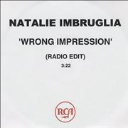 Click here for more info about 'Natalie Imbruglia - Wrong Impression'