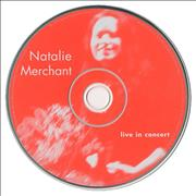 Click here for more info about 'Natalie Merchant - Live In Concert'