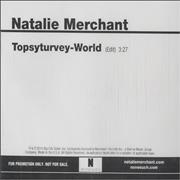 Click here for more info about 'Natalie Merchant - Topsyturvey-World'