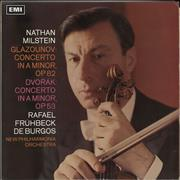 Click here for more info about 'Nathan Milstein - Glazounov: Concerto in A Minor, Op.82 / Dvorák: Concerto in A Minor, Op.53'