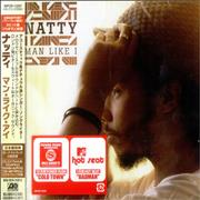 Natty Man Like I Japan CD album Promo
