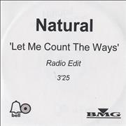 Click here for more info about 'Natural - Let Me Count The Ways'