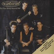 Click here for more info about 'Natural - Put Your Arms Around Me'