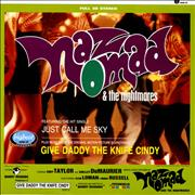 Click here for more info about 'Naz Nomad & The Nightmares - Give Daddy The Knife Cindy - Purple vinyl'