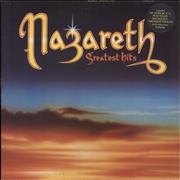 Click here for more info about 'Nazareth - Greatest Hits - Stickered Laminated Sleeve'