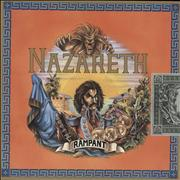 Click here for more info about 'Nazareth - Rampant - EX + sticker'