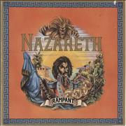 Click here for more info about 'Nazareth - Rampant - VG'
