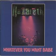 Click here for more info about 'Nazareth - Whatever You Want Babe'