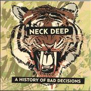 Click here for more info about 'Neck Deep - Rain In July/A History of Bad Decisions - Yellow in Green vinyl'