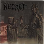 Click here for more info about 'Necrot - Blood Offerings - Splatter Vinyl'