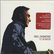 Click here for more info about 'Neil Diamond - 12 Songs + Music Book'