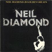 Click here for more info about 'Neil Diamond - 20 Golden Greats - White vinyl'