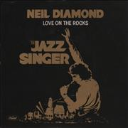 Click here for more info about 'Neil Diamond - Love On The Rocks + Sleeve'