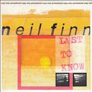 Click here for more info about 'Neil Finn - Last To Know'