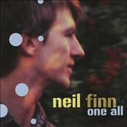 Click here for more info about 'Neil Finn - One All'
