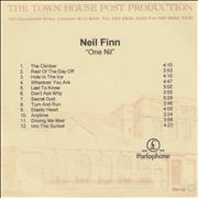 Click here for more info about 'Neil Finn - One Nil'