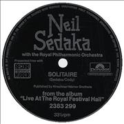 Click here for more info about 'Neil Sedaka - Solitaire - Flexi'