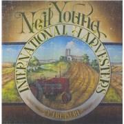 Neil Young A Treasure UK 2-LP vinyl set