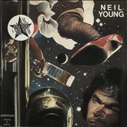 Click here for more info about 'Neil Young - American Stars 'N Bars - Stickered - EX'