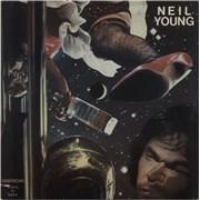 Neil Young American Stars 'N Bars USA vinyl LP