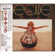 Neil Young Decade Japan 2-CD album set Promo