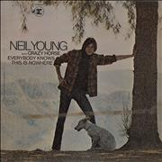 Click here for more info about 'Neil Young - Everybody Knows This Is Nowhere - 1st - VG'