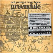 Click here for more info about 'Neil Young - Greendale - Stickered case'