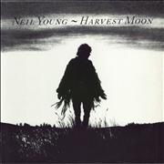 Click here for more info about 'Neil Young - Harvest Moon - VG'