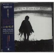 Neil Young Harvest Moon Japan CD album Promo