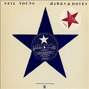 Click here for more info about 'Neil Young - Hawks & Doves - Blue Vinyl'
