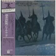 Neil Young Journey Through The Past Japan 2-LP vinyl set
