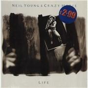 Neil Young Life UK vinyl LP
