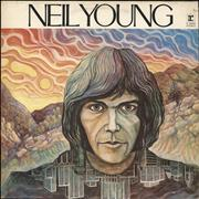 Click here for more info about 'Neil Young - Neil Young - 70s - Tan Label'
