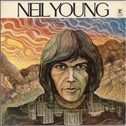 Neil Young Neil Young - 70s - Tan Label UK vinyl LP