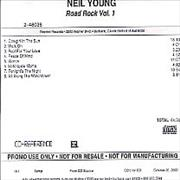 Click here for more info about 'Neil Young - Road Rock Vol.1'