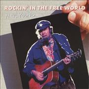 """Neil Young Rockin' In The Free World Germany 12"""" vinyl"""