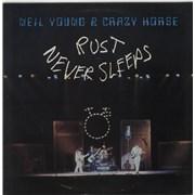 Neil Young Rust Never Sleeps - EX UK vinyl LP