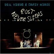 Neil Young Rust Never Sleeps - EX USA vinyl LP