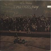 Click here for more info about 'Neil Young - Time Fades Away - 2nd + Both Posters - Ex'