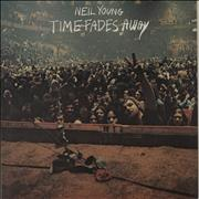 Click here for more info about 'Neil Young - Time Fades Away - Glossy Picture Sleeve'