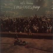 Neil Young Time Fades Away Germany vinyl LP