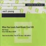 Click here for more info about 'Neil Young - When Your Lonely Heart Breaks'