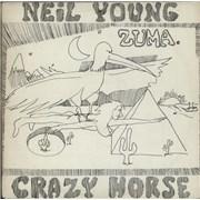 Neil Young Zuma UK vinyl LP