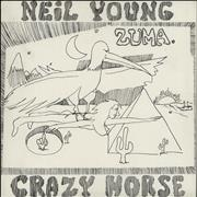 Neil Young Zuma Germany vinyl LP