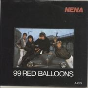 Click here for more info about 'Nena - 99 Red Balloons - Solid'