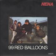 Click here for more info about 'Nena - 99 Red Balloons - Injection Moulded'